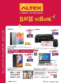 Altex - Back to school | 27 August - 02 Septembrie