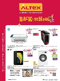 Altex - Back to School 2.0 | 03 Septembrie - 09 Septembrie