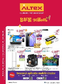 Altex - Back to School | 26 August - 01 Septembrie