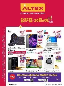 Altex - Back to School 2.0 | 02 Septembrie - 08 Septembrie