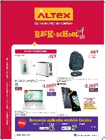 Altex - Back to School 3.0 | 09 Septembrie - 15 Septembrie