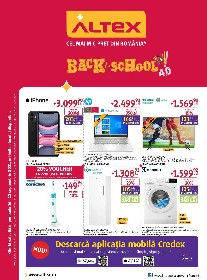 Altex - Back to school 4.0 | 16 Septembrie - 22 Septembrie