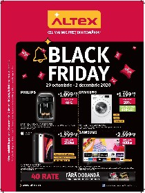 Altex - Black Friday V2 | 29 Octombrie - 02 Decembrie
