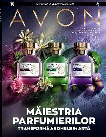 Avon - Maiestria parfumierilor transforma aromele in arta | 09 Aprilie - 29 Aprilie