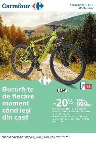 Carrefour - Reduceri la articole camping si sport in aer liber | 21 Mai - 10 Iunie