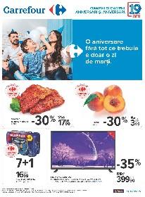 Carrefour - Oferte Aniversare | 25 Iunie - 08 Iulie