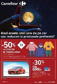 Carrefour - 50% reducere la colectia de toamna iarna | 04 Ianuarie - 13 Ianuarie