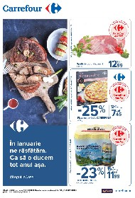 Carrefour - Oferte alimentare si nealimentare | 14 Ianuarie - 20 Ianuarie