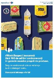Carrefour - Produse marca proprie #NimicSuspect | 28 Ianuarie - 10 Februarie