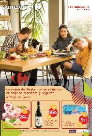 Carrefour - Oferte alimentare de Paste | 26 Aprilie - 05 Mai