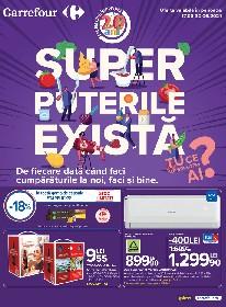 Carrefour - Super puterile exista | 17 Iunie - 30 Iunie
