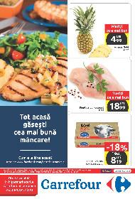 Carrefour - Tot acasa gasesti cea mai buna mancare! | 26 Martie - 01 Aprilie
