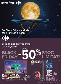 Carrefour - Black Friday | 29 Octombrie - 11 Noiembrie