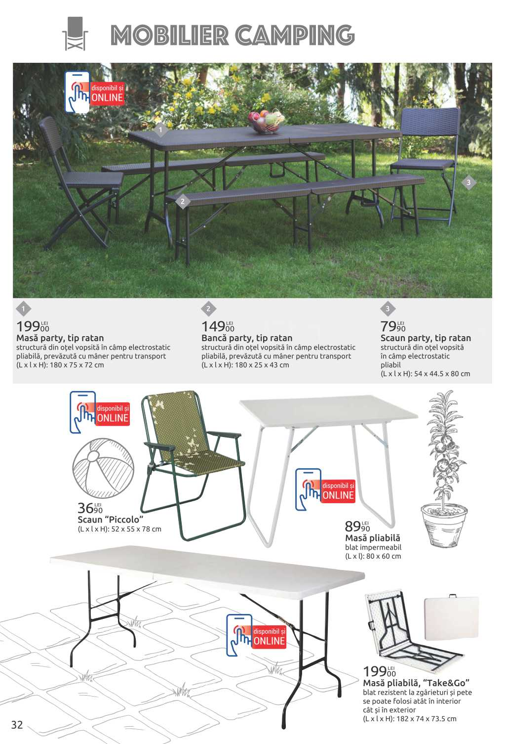 Carrefour Produse Camping Si Mobilier Gradina Paginile 31 40