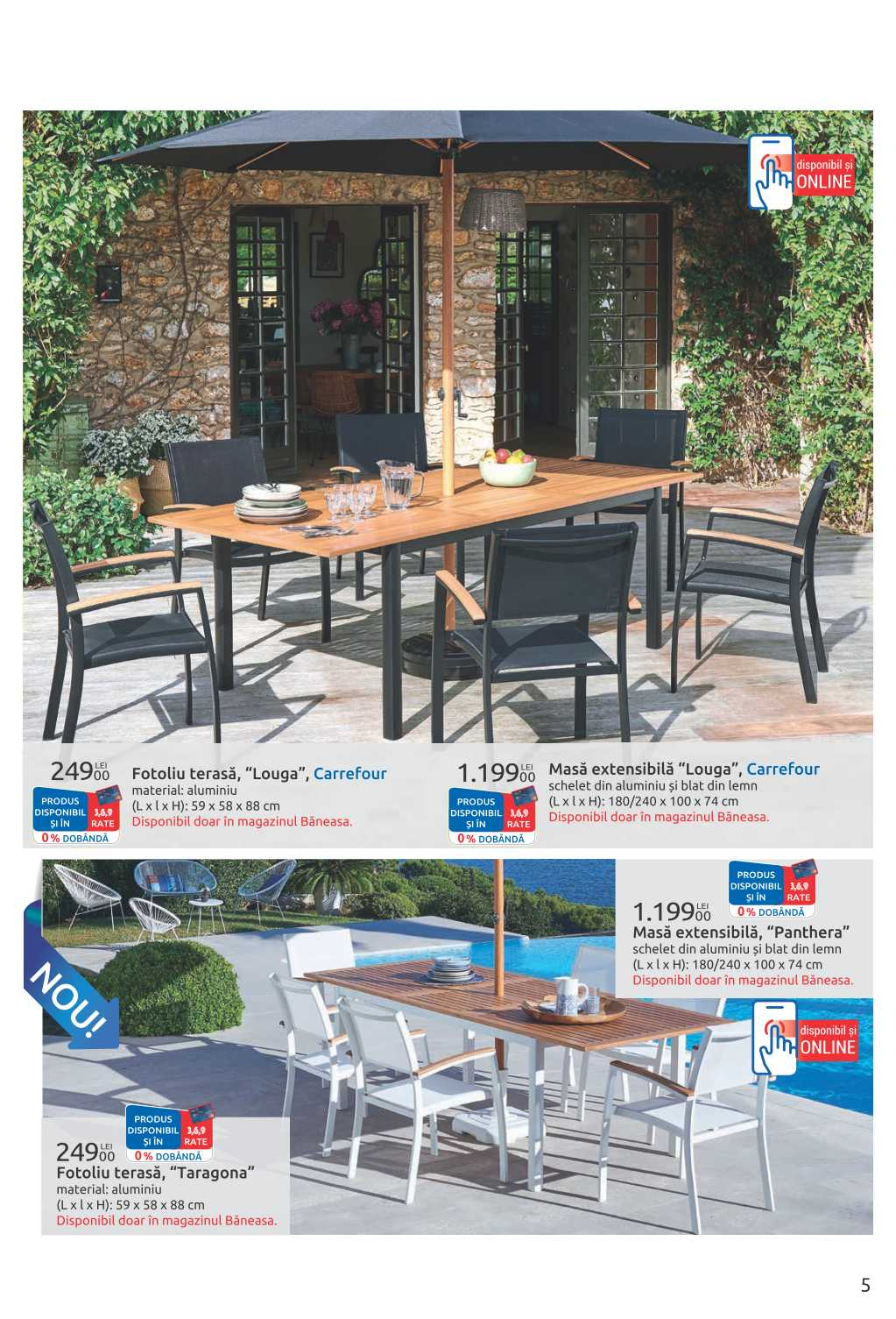 Carrefour Produse Camping Si Mobilier Gradina