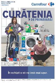 Carrefour - Oferta produse pentru curatenia de primavara | 19 Martie - 01 Aprilie