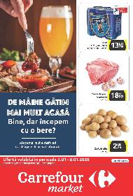 Carrefour Market - Oferte valabile doar cu Card Plus | 02 Ianuarie - 08 Ianuarie