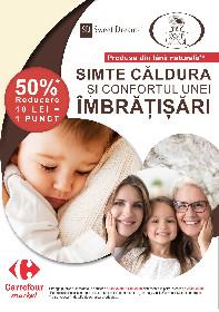 Carrefour Market - 50% reducere la gama Sweet Dreams prin puncte autocolante | 16 Ianuarie - 11 Martie