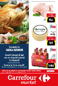 Carrefour Market - Oferte alimentare si nealimentare | 13 Februarie - 19 Februarie