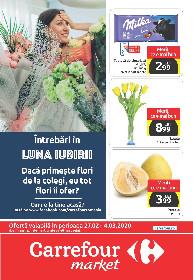 Carrefour Market - Oferte alimentare si nealimentare imbatabile | 27 Februarie - 04 Martie