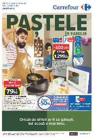 Carrefour - Paste in familie | 09 Aprilie - 22 Aprilie