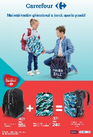 Carrefour - Back to School | 12 August - 29 Septembrie
