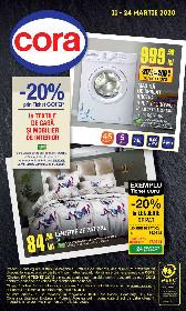 Cora - 20% reducere la textile de casa si mobilier de interior | 11 Martie - 24 Martie