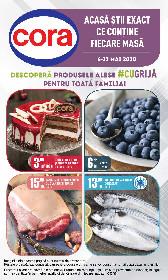 Cora - Descopera produsele alese #CU GRIJA pentru toata familia | 06 Mai - 12 Mai