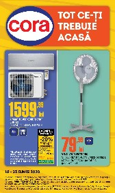 Cora - 20% reducere la aparate de aer conditionat | 10 Iunie - 23 Iunie