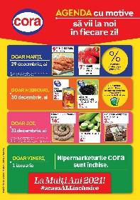 Cora - Agenda cu motive | 29 Decembrie - 04 Ianuarie