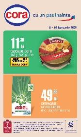 Cora - Oferte alimentare si nealimentare | 06 Ianuarie - 19 Ianuarie