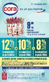 Cora - 20% reducere la ciocolata si tablete de ciocolata | 03 Martie - 16 Martie