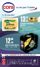 Cora - 20% reducere la bere blonda | 09 Iunie - 22 Iunie