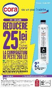 Cora - 20% reducere la electronice mari si incorporabile   23 Iunie - 06 Iulie