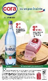 Cora - 25% reducere la bauturi necarbonatate   21 Iulie - 27 Iulie