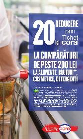 Cora alimentar - 20% reducere la salam crud-uscat ambalat | 13 Mai - 26 Mai