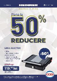 Cora - Pana la 50% reducere la gama Heinner | 25 Martie - 31 Mai