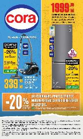 Cora - 20% reducere la electrocasnice | 25 Martie - 07 Aprilie