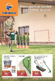 Dedeman - Prima poarta de handbal e peretele de acasa | 26 Martie - 22 Aprilie