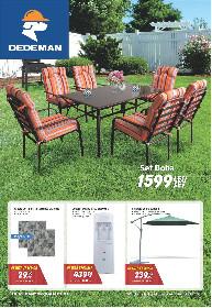 Dedeman - Oferte speciale la mobilier de gradina | 21 Mai - 17 Iunie