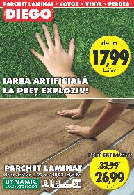 Diego - Iarba artificiala la pret exploziv | 01 Iunie - 30 Iunie