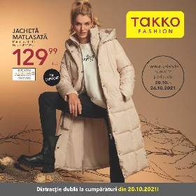 Takko Fashion - Distractie dubla la cumparaturi | 20 Octombrie - 26 Octombrie