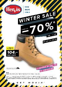 Hervis Sports - Winter sale. Reducere de pana la 70% | 16 Ianuarie - 29 Ianuarie