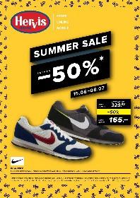 Hervis Sports - Summer Sale!!! Reduceri de pana la 50% | 15 Iunie - 08 Iulie