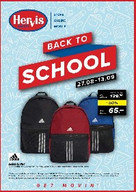 Hervis Sports - Back to School | 27 August - 13 Septembrie