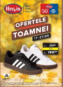 Hervis Sports - Ofertele toamnei | 17 Septembrie - 27 Septembrie