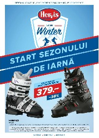 Hervis Sports - Start sezonului de iarna | 12 Noiembrie - 15 Noiembrie