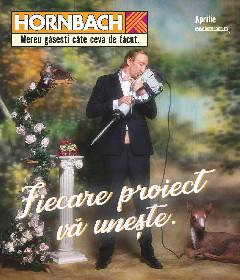 Hornbach - Fiecare proiect va uneste | 01 Aprilie - 03 Mai