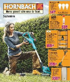 Hornbach - Oferte septembrie | 30 August - 03 Octombrie