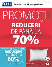 JYSK - Promotii !!! Reduceri de pana la 70% | 01 Ianuarie - 29 Ianuarie